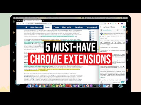 5 Must-Have CHROME EXTENSIONS For Students!   2019