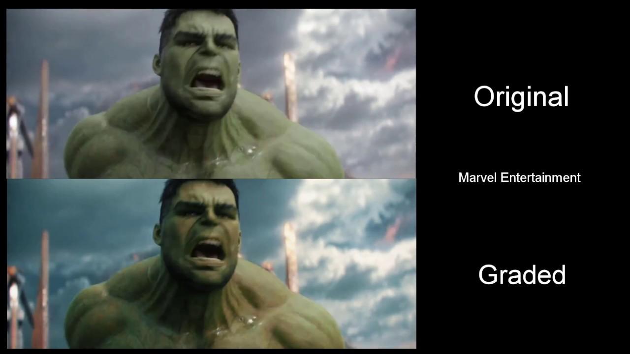 Fixing Marvel's Colour Grading: Thor Ragnarok - YouTube