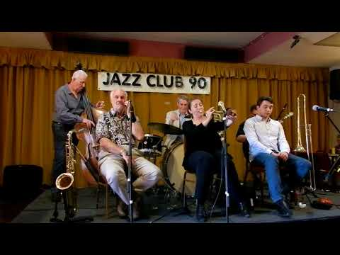 Marla Dixon and Friends play part of the second set for Jazz Club 90 at Albrighton