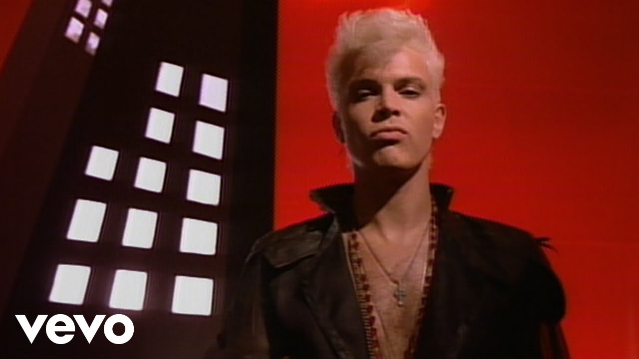 Billy Idol   Flesh For Fantasy   YouTube