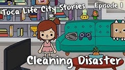 Toca Life City Stories - Cleaning Disaster (Episode 1)