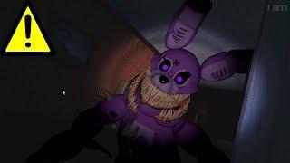 Twisted Bonnie Jumpscare Found?! (FNAF)