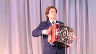 Рамиль Курамшин. Попурри из татарских народных мелодий (гармонь-хромка).
