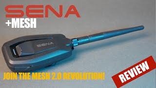 Sena +Mesh Review | Sena Plus Mesh | CruisemansGarage.com
