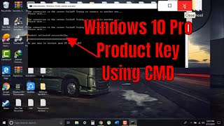 Easily Activate Windows 10 Pro Free Product Key 64 Bit using CMD