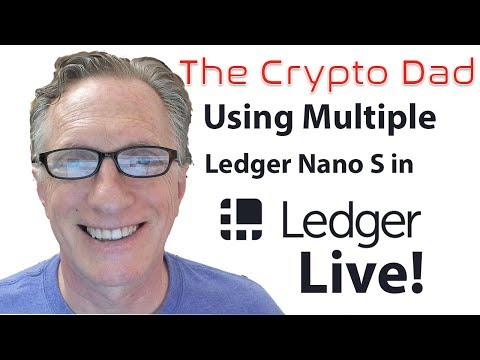 How to use Multiple Ledger Nanos with the Same Copy of Ledger Live
