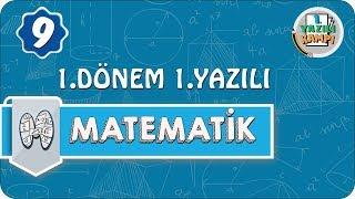 9. Sınıf Matematik  1. Dönem 1. Yazılıya Hazırlık
