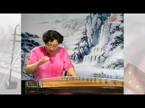 [青苗琴行] 中國上海音樂學院試 SCOM - 古箏三級漁舟晚唱 - YouTube
