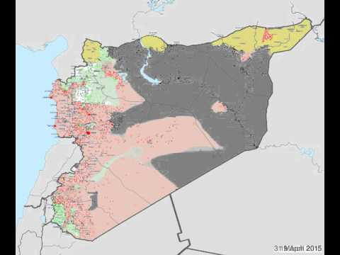 Syria Timelapse - March 2014 - January 2016