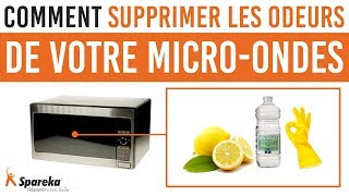 Comment supprimer les odeurs de votre micro ondes ? 2 astuces !