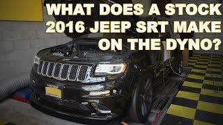 2016 Jeep SRT on the Dyno - How much power does it make stock?