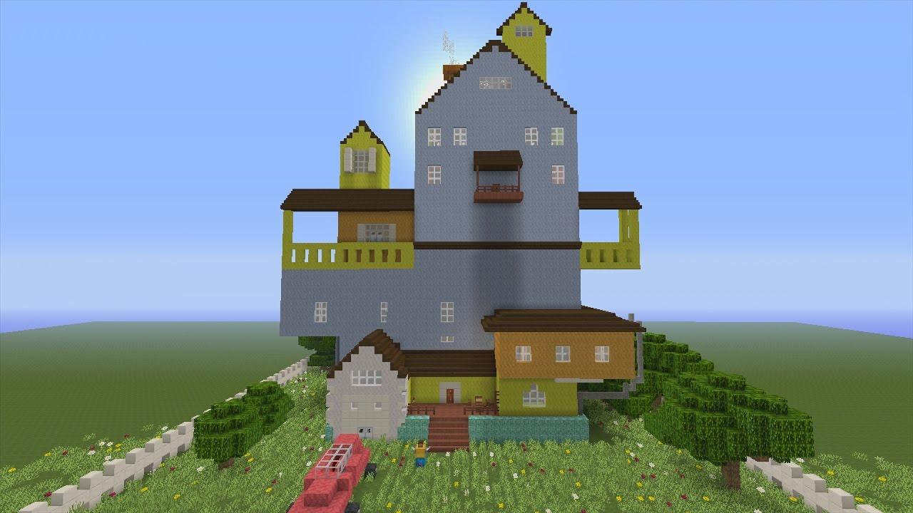 The hello neighbor house - The Hello Neighbor House 13