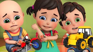 Accidents Happen! Boo Boo Song | Brand New Nursery Rhymes & Kids Songs | ABC & 123 | Jugnu kids