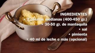 Baixar Pure de patatas en microondas