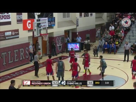 Lonzo Ball is a BEAST!!! Chino Hills vs Redondo Union - LIVE BROADCAST
