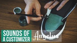 Sounds Of A Customizer | ASMR | Custom Shoes