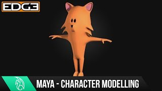 Tutorial - Modeling a Cartoon Cat character in Autodesk Maya   - Reference Image Setup