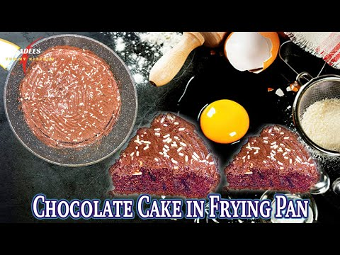 chocolate-cake-in-frying-pan!-|-no-oven-|easy-10-minute-recipe