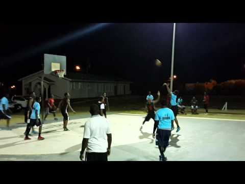 Anguilla youth basketball YoungStars vs OTF 2nd half north hill U19 tournement 2015
