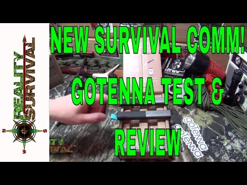New Survival Communication Option! GoTenna Full Review & Field Test