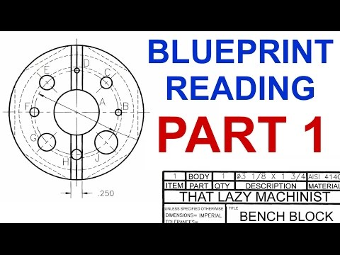 MACHINE SHOP LESSON 4, BLUEPRINT READING PART 1 Marc L'Ecuye