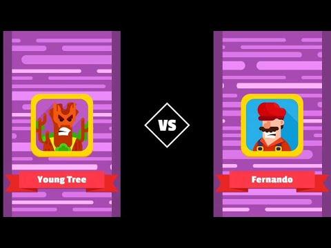 BOWMASTERS YOUNG TREE VS FERNANDO VS CHANG WU KING GAMEPLAY