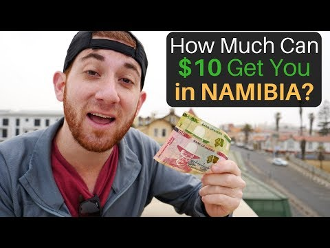 How Much Can $10 Get You in NAMIBIA?