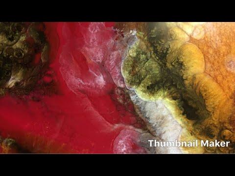 Resin Art Epoxy Painting DIY Tutorial