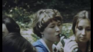 1977 осень школа 569 1 сентября, поездка в Архангельское, уроки физкультуры