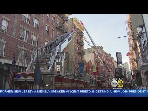 12 Hurt In Little Italy Fire