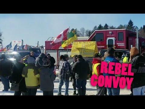 United We Roll convoy welcomed in Terrace Bay  | Keean Bexte