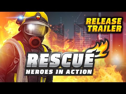 RESCUE: Heroes in Action (iOS & android) - Release Trailer