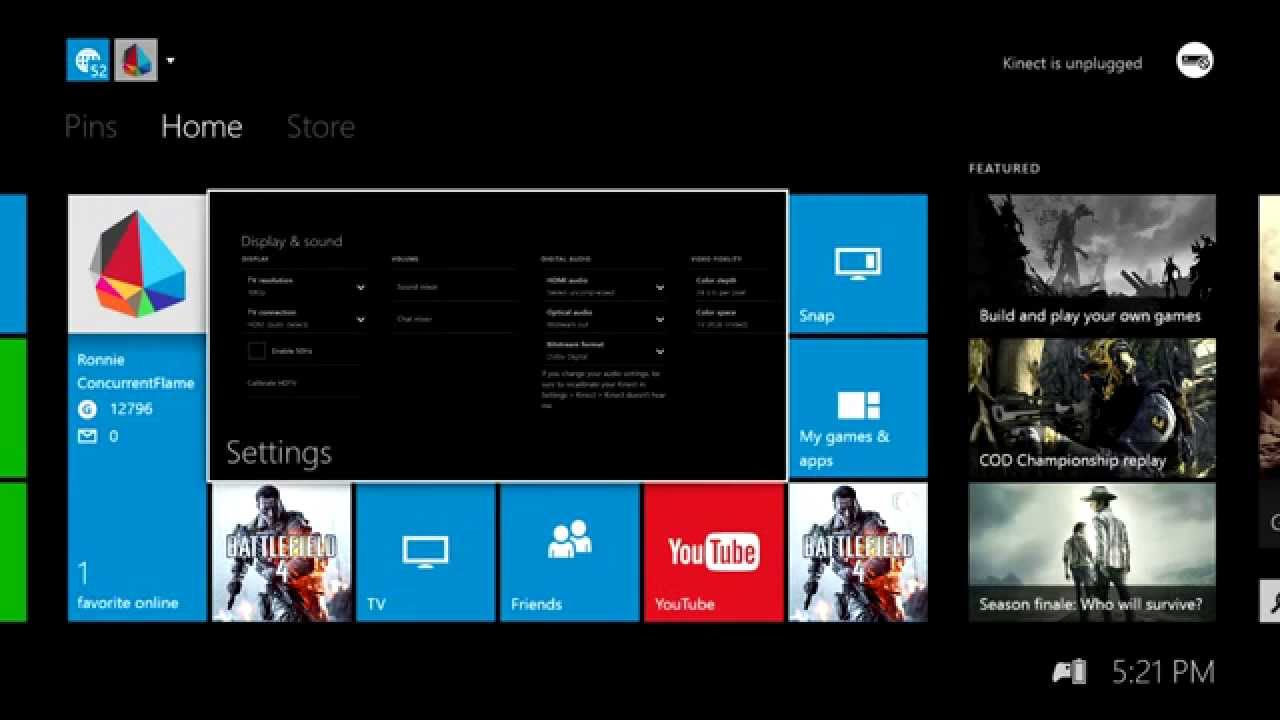How to change Xbox One Chat and Game Sound Balances - YouTube