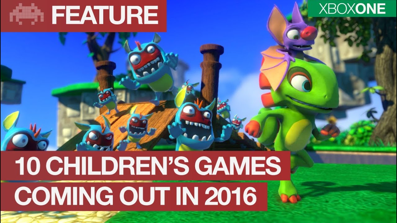 10 Children's Games Coming Out in 2016 on Xbox One | Kids