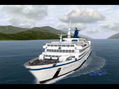 Striking and Sinking of the BC Ferries Queen of the North