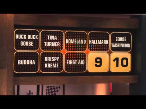 INCREDIBLE Final Round with Ana Gasteyer and Michael Ealy  Celebrity Name Game