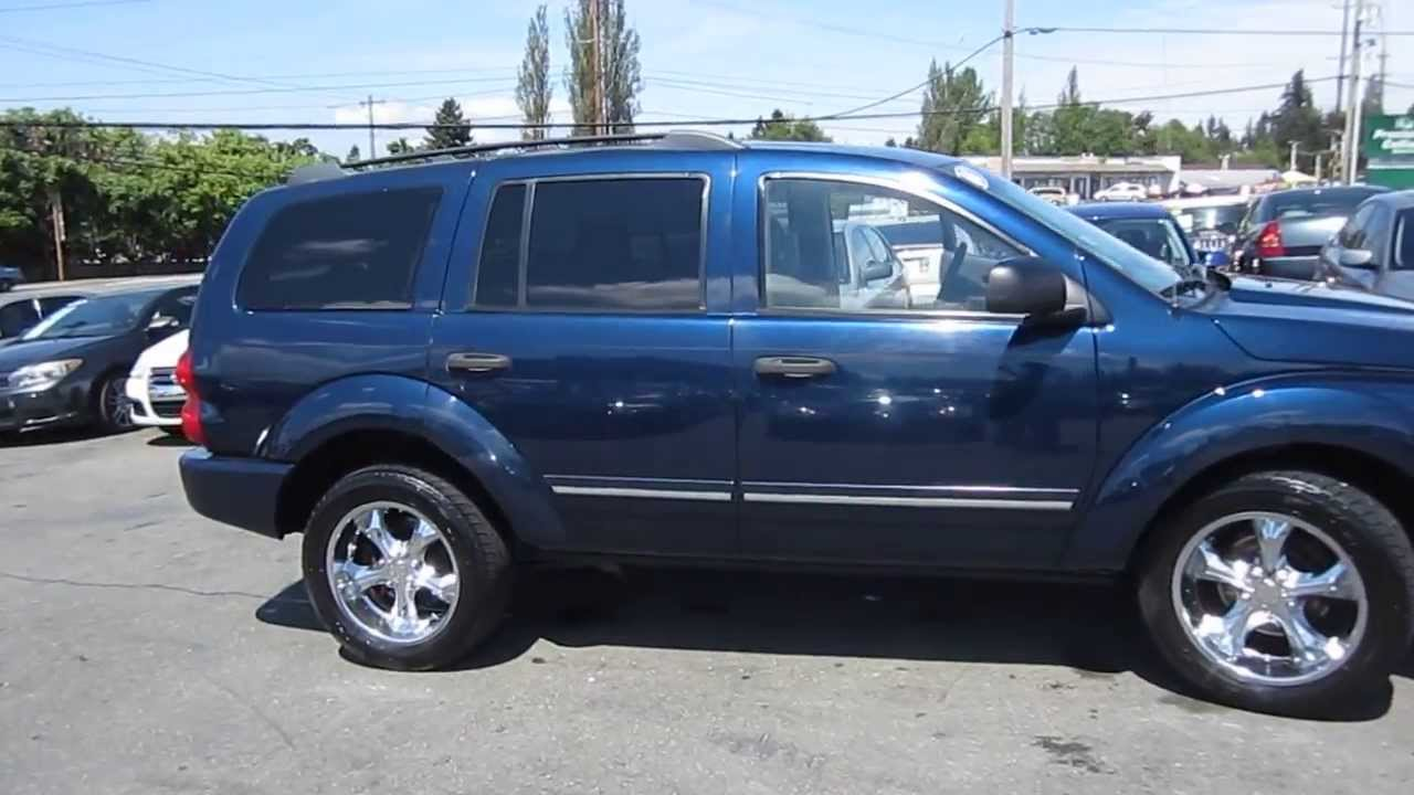 2004 dodge durango blue stock l157048 youtube 2004 dodge durango blue stock