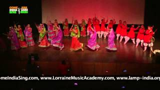 "Dance Performance: ""Folk Dance - Dandiya"" by students of Lotus Valley International School"