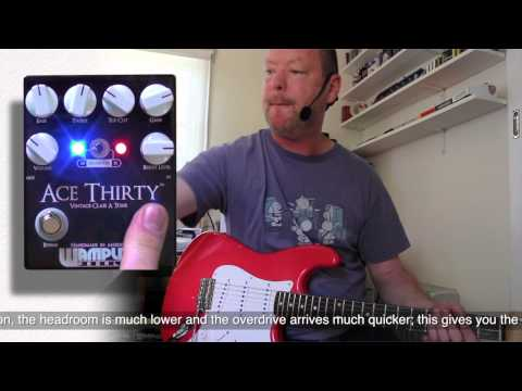 Wampler : Ace Thirty - Single coils (S-Style) - Demonstration