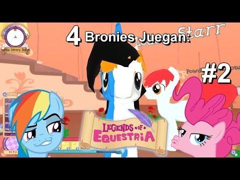 4 Bronies Juegan: Legends Of Equestria   Los Violadores Contraatacan