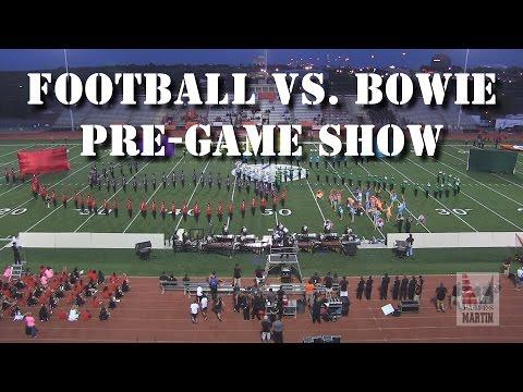 Football (Pre-game) Show 2015 - Martin vs.  Bowie