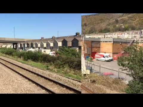 GWR Journey: Newport (Casnewydd) South Wales - Swansea (Abertawe), 8/4/17