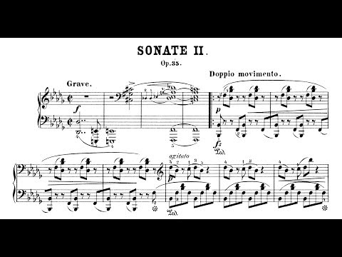 Chopin: Sonata No.2 In B-flat Minor, Op.35 (Pogorelich, Fialkowska)