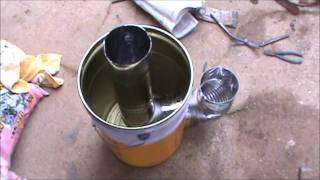 Repeat youtube video ロケットストーブの作り方 Make a rocket stove