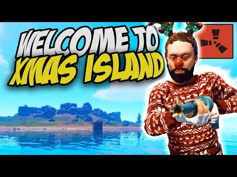 VISITING THE GREATEST CHRISTMAS ISLAND! - Rust Solo Survival Gameplay