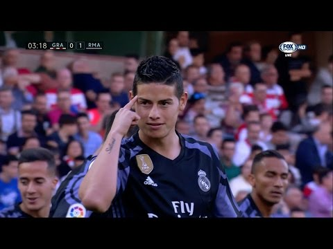 James Rodriguez vs Granada Away HD (06/05/2017) by JamesrR10™