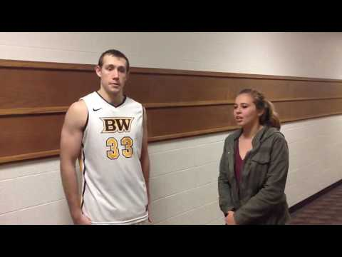 2016 Holiday Invitational Rose Hulman Post-Game Interview