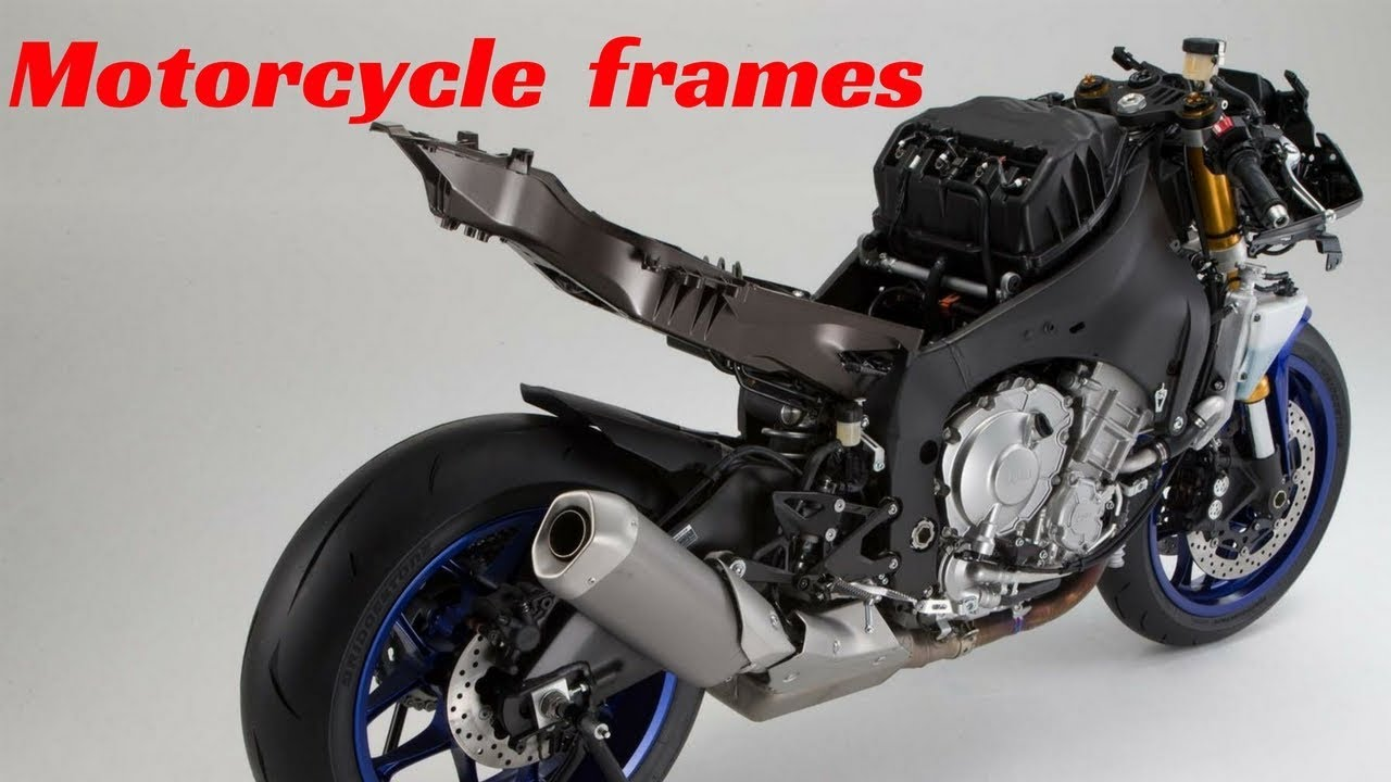 Motorcycle Frame Types : Different type of motorcycle frames youtube