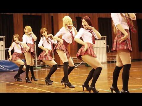 Oles Turun Naik, Versi Cewek Korea #turunnaikchallenge / Korean Girls Version #kpop