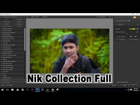 Adobe Photoshop Cs Filter, Nik Collection, Full Setup & Tutorial